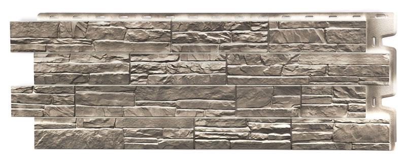 Фасадные панели цвет Базальт