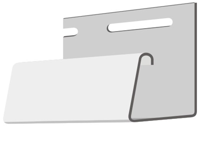 Фасадный J-профиль 30 мм