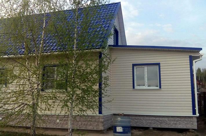 Сайдинг Деке Fels фото дома