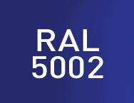Цвет RAL 5002