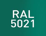 Цвет RAL 5021