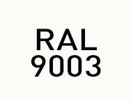 Цвет RAL 9003