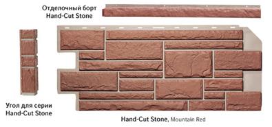 Панели сайдинга Nailite серии Hand-Cut Stone