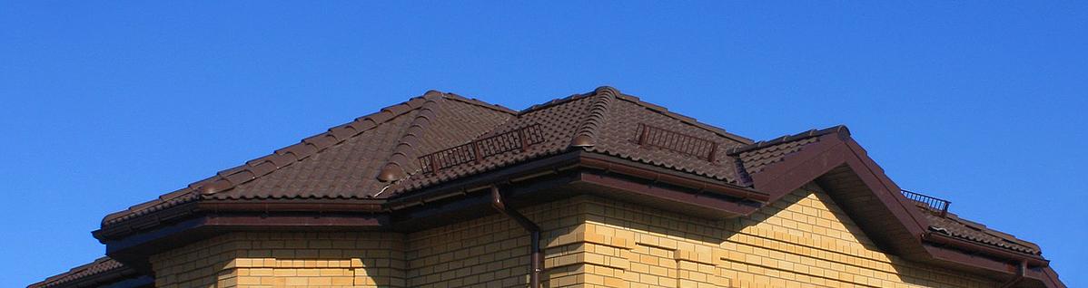 Фото крыши покрытой черепицей Забудова